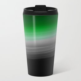 Green Gray Ombre Travel Mug