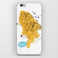 wolves iPhone & iPod Skins featuring Wolves by Ann Van Haeken
