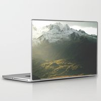 alaska Laptop & iPad Skins featuring Alaska by Parissis