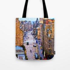 Edinburgh Royal Mile Tote Bag