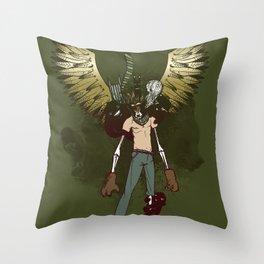 Bear Acolyte Throw Pillow