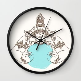 zulu Wall Clock