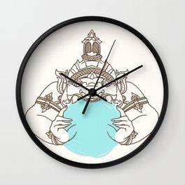zulu Wall Clock