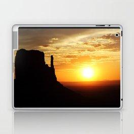 Sunrise over Monument Valley West Mitten Butte Laptop & iPad Skin