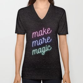 Make More Magic Unisex V-Neck