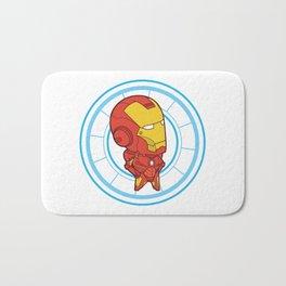 Itty Bitty Iron Man Bath Mat