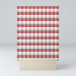 The Can of Soup in the Age of Mechanical Reproduction Mini Art Print
