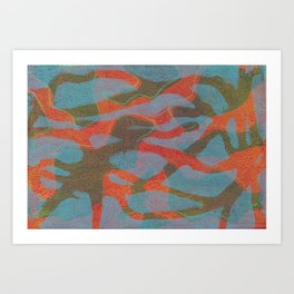 Abstract No. 160 Art Print