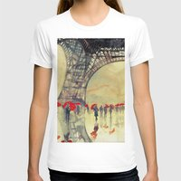 takmaj T-shirts featuring Winter in Paris by takmaj