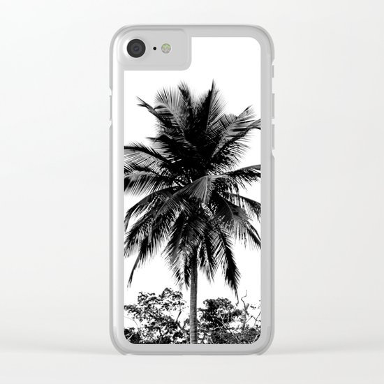 Palm Tree Supreme Clear iPhone Case