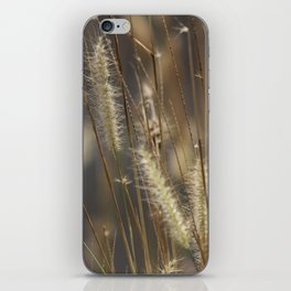 Blowing in the wind. iPhone Skin