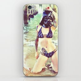 Darth Harmony's Summer Vacation iPhone Skin