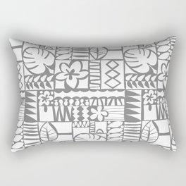 Chachani - White Rectangular Pillow