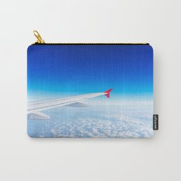 See the world through the airplane's window Carry-All Pouch