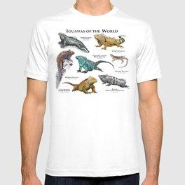 Iguanas of the World T-shirt