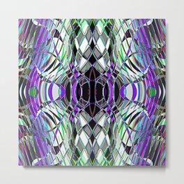 Line abstract Metal Print