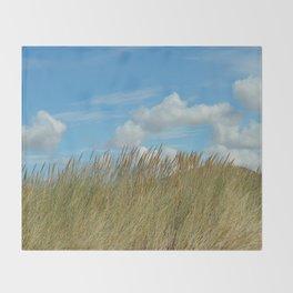 Dune du Touquet, France Throw Blanket