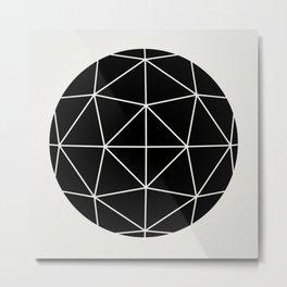 Sphere 3 Metal Print