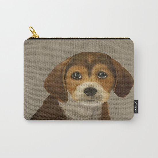 Cute Doggy Painting Carry-All Pouch