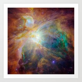 Heart of Orion Art Print