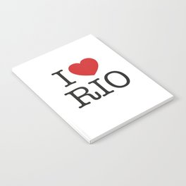 I love Rio Notebook