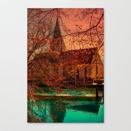 Monestery church of Blaubeueren Canvas Print