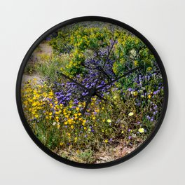 Painted Desert 7493 - Joshua_Tree_National_Park Wall Clock