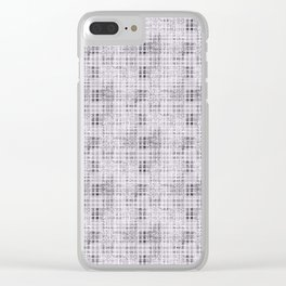 Classical gray cell. Clear iPhone Case