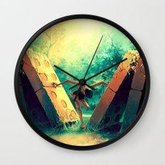 TAURUS from the Dancing Zodiac Wall Clock