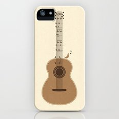 Classical Notation Slim Case iPhone (5, 5s)