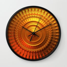 The Midas Touch Wall Clock