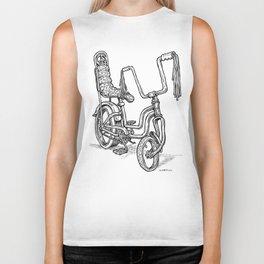 'Slicks R 4 Chicks' - Girls Mod Stingray Muscle Bike Cartoon Retro Bicycle Biker Tank