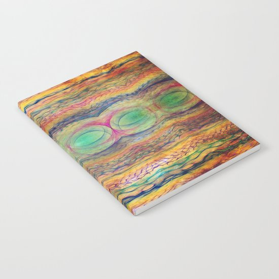 Wavy Pattern Notebook