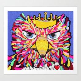 Ave Rey 100%LANA Art Print