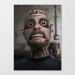 ZipperHead Canvas Print