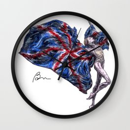 Tribute to London attacks 03.05.2017 Wall Clock