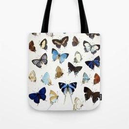 Vintage Butterfly Illustration Tote Bag