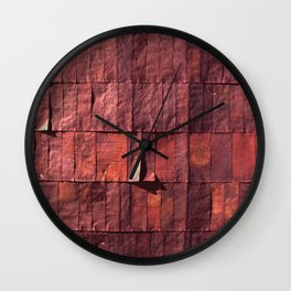 Antique Copper Wall Pattern Wall Clock