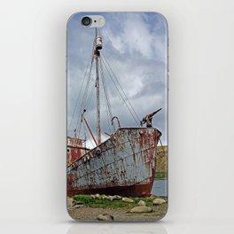 Whaling Ship with Gun iPhone Skin