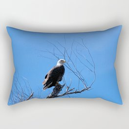 Clear Sight (Bald Eagle) Rectangular Pillow