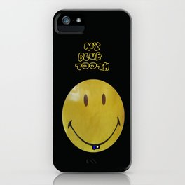 MY BLUE TOOTH - ©2012 iPhone Case