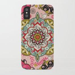 Mandala color pattern iPhone Case