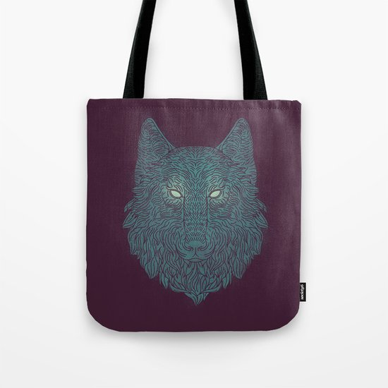Wolf of Winter Tote Bag