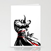 assassins creed Stationery Cards featuring Assassins Creed  by iankingart