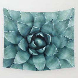 Aloe Green Agave Wall Tapestry