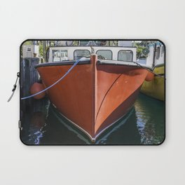 Red Lobstering boat Laptop Sleeve