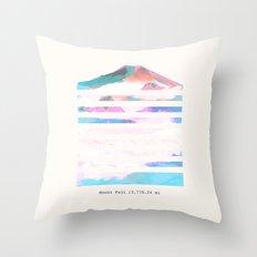 Mount Fuji Throw Pillow