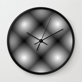 Dangerus Black Wall Clock