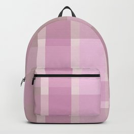 AFE Pastel Plaid Pattern Backpack