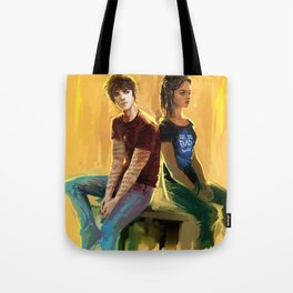 Jordan Kyle & Maia Roberts Tote Bag